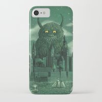 castle iPhone & iPod Cases featuring Age of the Giants  by Terry Fan