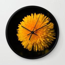Sun Salutations Wall Clock