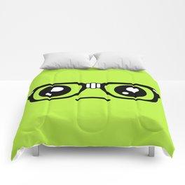 Sad little nerd. Comforters