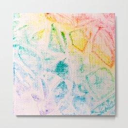Rainbow Abstract #2 Metal Print
