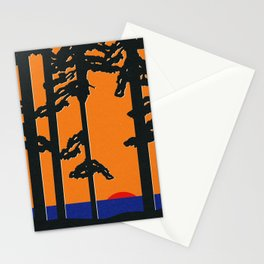 Baltic Sea Sunrise Stationery Cards