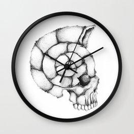 sea skull Wall Clock