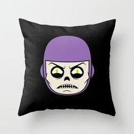 Deathray Head Throw Pillow