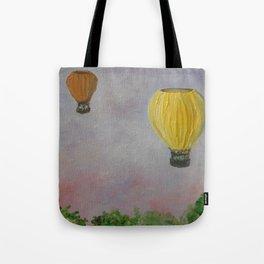 Hot Air Balloon Adventure Tote Bag