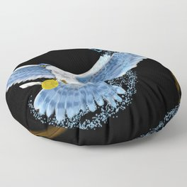 Expecto Patronum Goshawk Floor Pillow