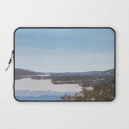 Visit Big Bear Lake Laptop Sleeve