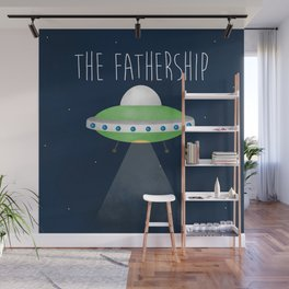 The Fathership Wall Mural