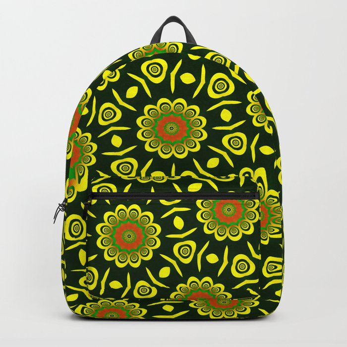 Cute ethnic floral pattern Backpack