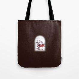 Sewing Frog Tote Bag