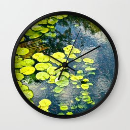 Water Lily 1 Wall Clock