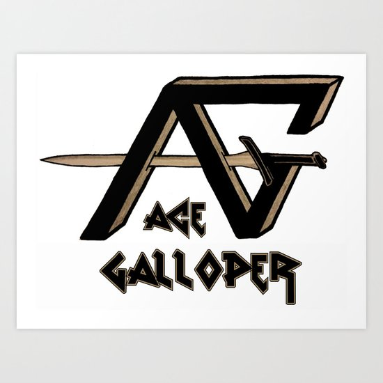 ace galloper Art Print
