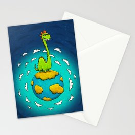 Dynoplanet Stationery Cards