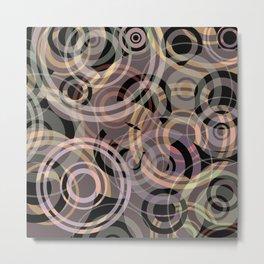 PATTERN-8 [gentle circles] Metal Print