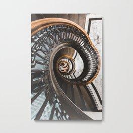 Stairs of Knowledge Metal Print
