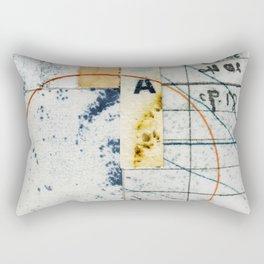 Circle A Rectangular Pillow