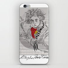 Beethoven in musica iPhone & iPod Skin