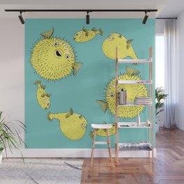 Circle of Fugu Wall Mural