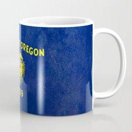 Oregon flag vintage  Coffee Mug