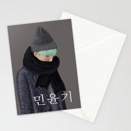 BTS SUGA - Min Yoongi Stationery Cards