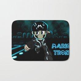 Mario Tron Bath Mat