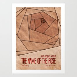 The name of the rose Art Print