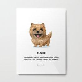 Eloise Metal Print