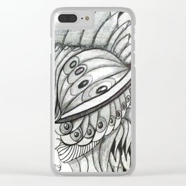 UNA MIRADA AL INFINITO Clear iPhone Case
