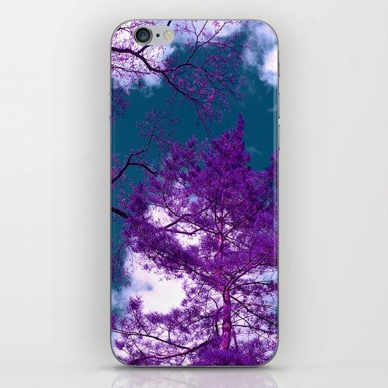 purple fir-tree II iPhone & iPod Skin