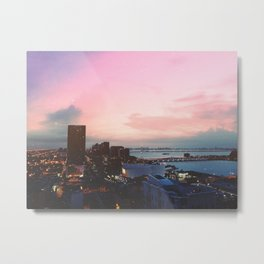 Sunrise at Bayfront Metal Print