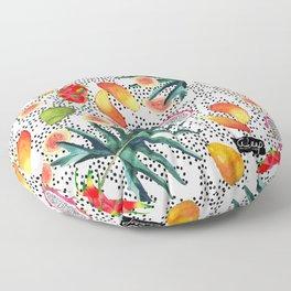 TROPICAL COCKTAIL Floor Pillow