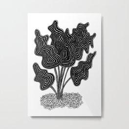 Leaf Lights Metal Print