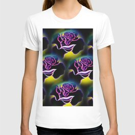 Flowers magic roses 6 T-shirt