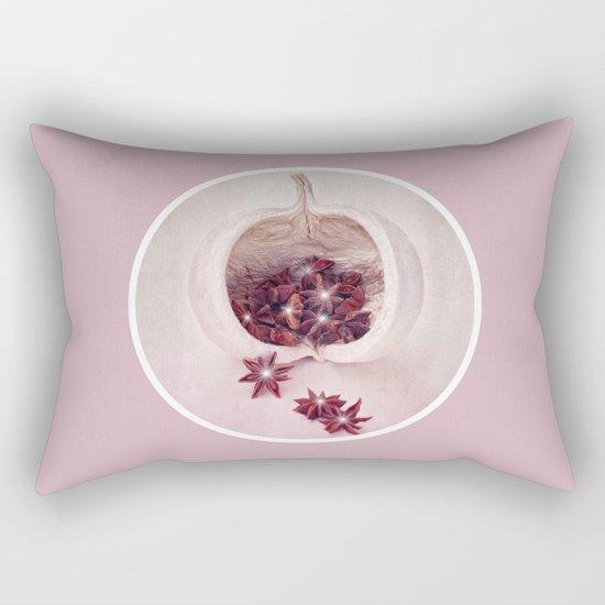 WINTER LIGHTS Rectangular Pillow