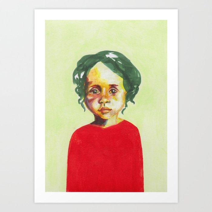 Les petites filles I.3 Art Print