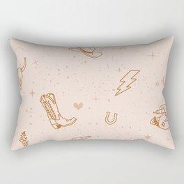Cowboy Things Rectangular Pillow