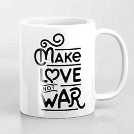 Make Love Not War Coffee Mug