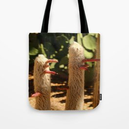 A Funny Sight Cacti Tote Bag