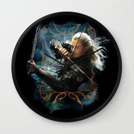The Fighting Prince of Mirkwood Wall Clock