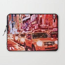Glittering Light of New York City Laptop Sleeve