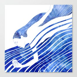 Water Nymph LXV Canvas Print