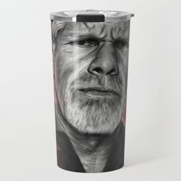 Clay Morrow Portrait -SOA 01 Travel Mug