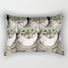 Mojo Kitten Rectangular Pillow