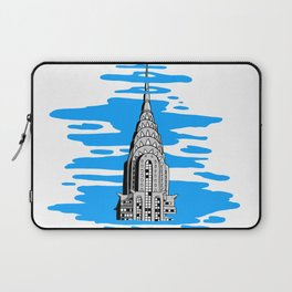 Shine like the top of the Chrysler Building! Laptop Sleeve