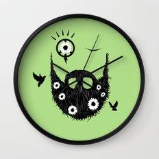Make Beards Not War! Wall Clock