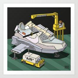 """""""air""""1 Art Print"""