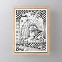 There will be Nonsense in it Framed Mini Art Print