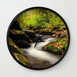 Woodland Fantasies Wall Clock