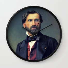 Guiseppe Verdi, Music Legend Wall Clock