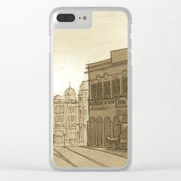 Sao Paulo 1910 Clear iPhone Case