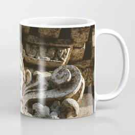 Uptown Chicago Architectural Detail Stone Face  Coffee Mug